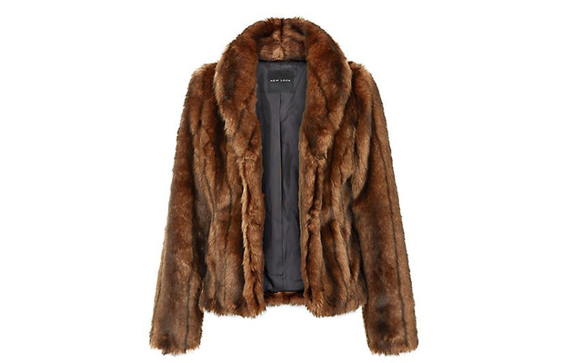 New Look Faux Fur Coat, brown £25, 12th January 2016