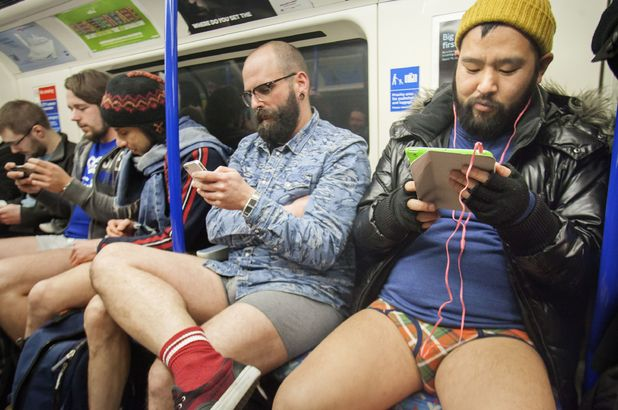 No Pants Subway Rose 2016 took place in London
