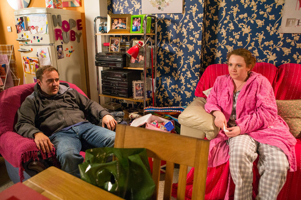 Corrie, Fiz finds out about the family's debt, Wed 13 Jan