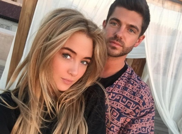 Nicola Hughes and Alex Mytton on holiday in Marrakesh, Morocco 12 January
