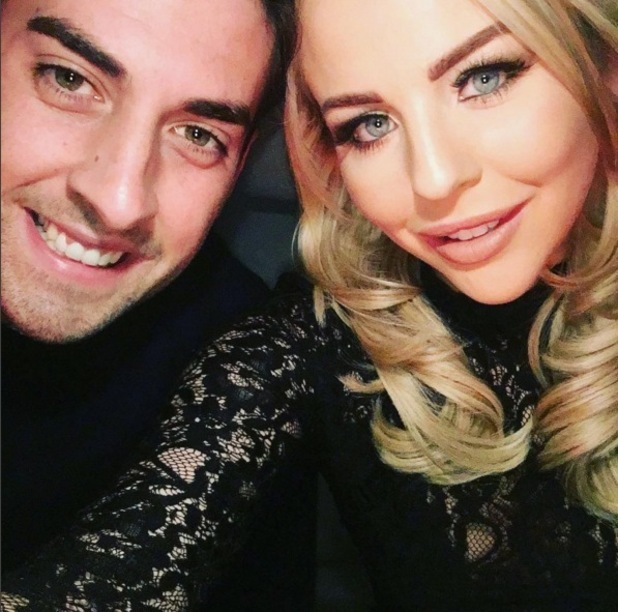 Lydia Bright and James Arg Argent selfie 31 December 2015