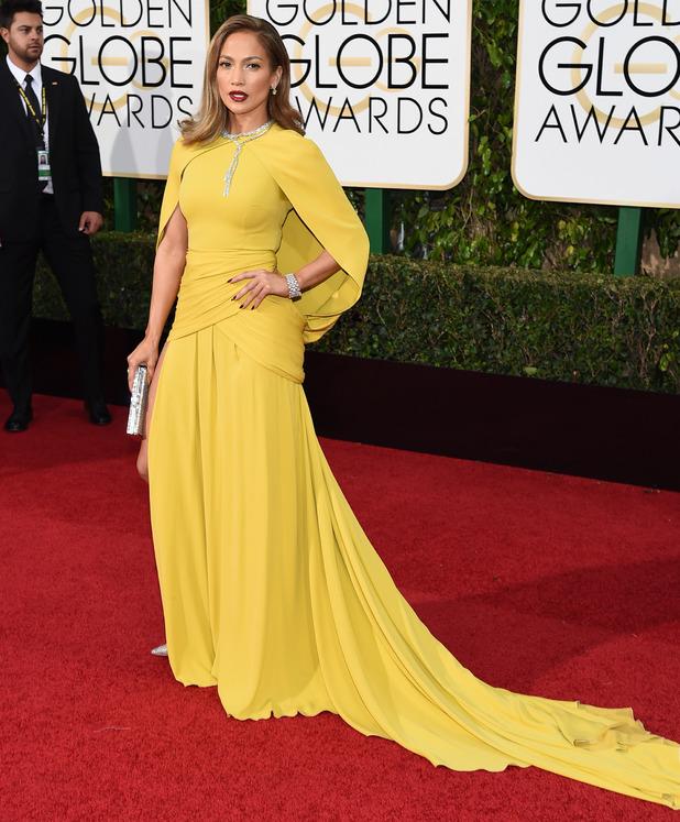 Jennifer Lopez, 73rd Annual Golden Globe Awards, Arrivals, Los Angeles, America - 10 Jan 2016