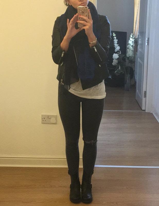 Brooke Vincent Blog: Leather jacket outfit 12 January