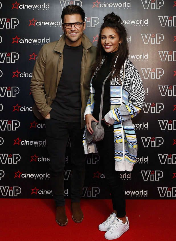 Mark Wright and Michelle Keegan have date night, Cineworld Sheffield] 14 January