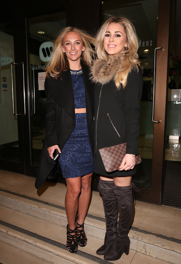Made in Chelsea's Tiffany Watson attends Britain's Next Top Model launch party in London, Kensington Gardens, 15th January 2016