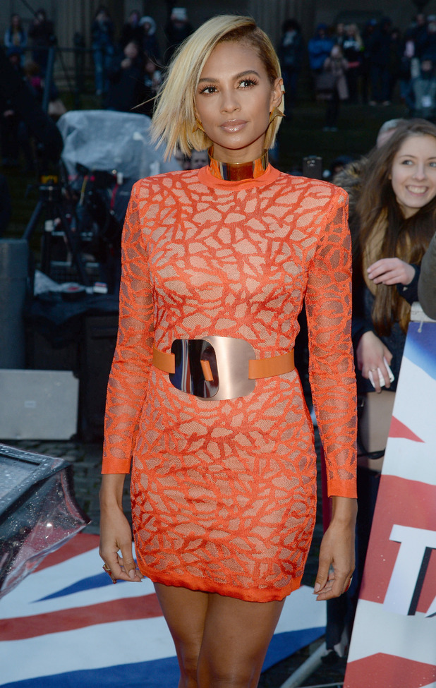 Alesha Dixon, Britain's Got Talent filming in Liverpool 15 January
