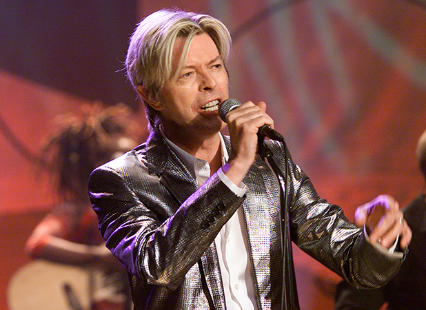 David Bowie Tonight Show with Jay Leno, 2004