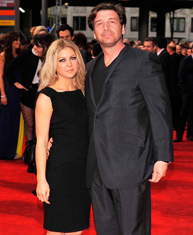 Nick Knowles and Jessica Morris 'The Dictator' World premiere held at the Royal Festival Hall - Arrivals. London, England - 10.05.12