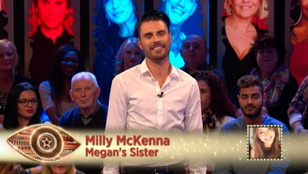 CBB Day 8: Megan's sister Milly McKenna calls in to talk to Big Brother's Bit On The Side