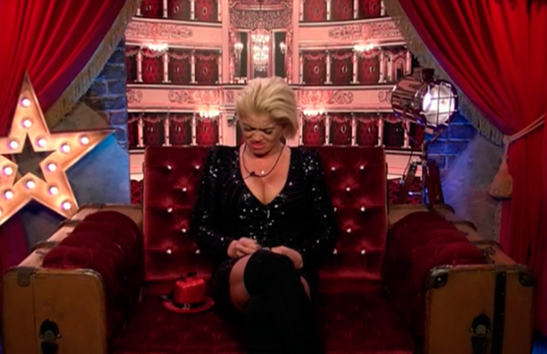Danniella Westbrook in tears after Angie Bowie comment CBB