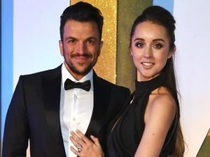 Peter Andre (L) and Emily MacDonagh attend the 21st National Television Awards at The O2 Arena on January 20, 2016 in London, England. (Photo by David M. Benett/Dave Benett/Getty Images)