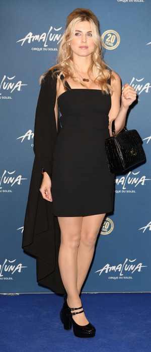 Former Made in Chelsea star Ashley James attends The premiere of Cirque du Soleil's Amaluna at the Royal Albert Hall, London, 20th January 2016