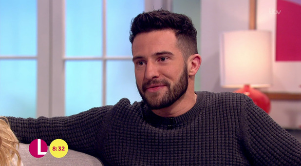 Gemma Atkinson and Michael Parr talk about their NTA nominations on 'Lorraine'. Broadcast on ITV1 HD. 18 January 2016.