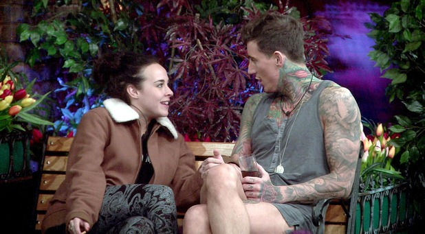 CBB: Steph tells Jeremy how she feels about him. 22 January 2016.