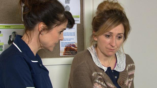Emmerdale, Emma thinks Laurel's pregnant, Tue 26 Jan