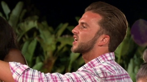 Lewis Good clashes with James Moore, Ex On The Beach Episode 1 19 January
