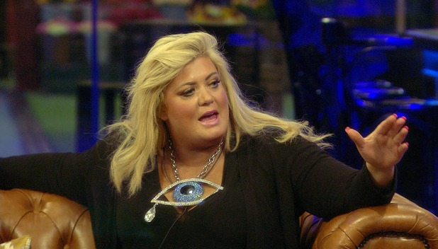 CBB: Gemma Collins in the house. 20 January 2016.