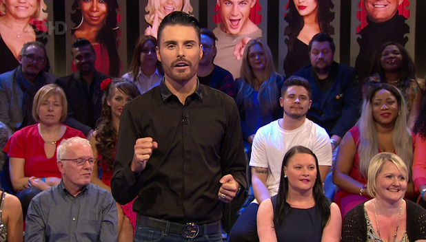 Rylan Clark on Celebrity Big Brother's Bit On The Side. Broadcast on Channel 5 HD - 12 January 2016.
