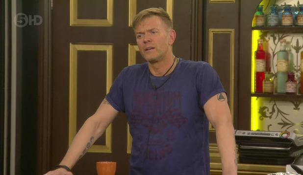 Celebrity Big Brother: Darren Day in the house. 18 January 2016.