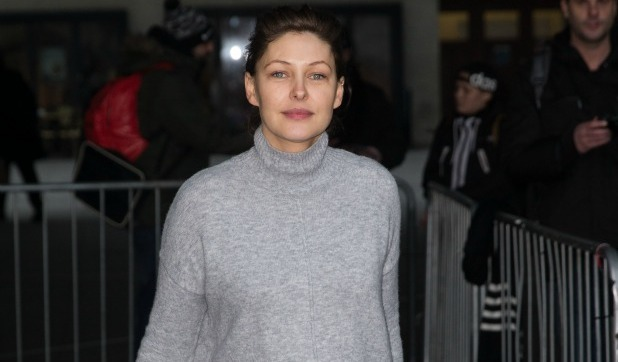 Emma Willis pictured arriving at the Radio 1 studios 21 January 2015