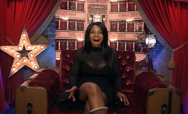 Celebrity Big Brother: Tiffany Pollard in the Diary Room. 18 January 2016.