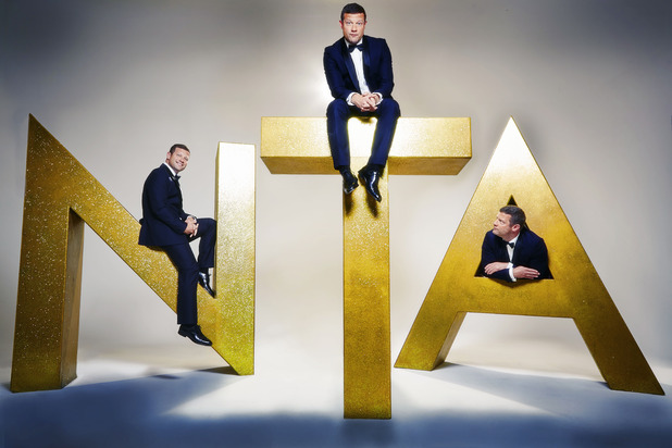 The National Television Awards, Dermot O'Leary, Wed 20 Jan