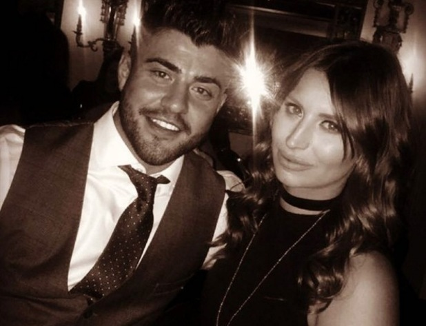 Rogan O'Connor and Ferne McCann, Twitter 18 January
