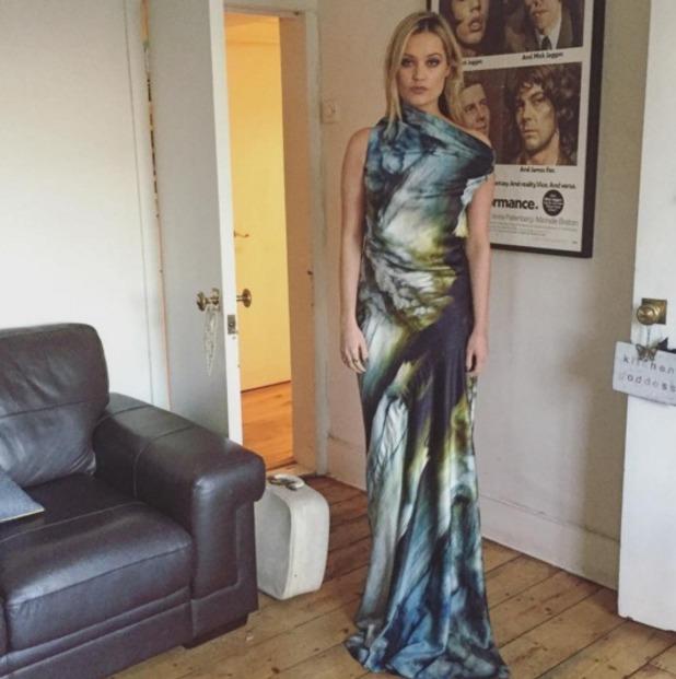 Laura Whitmore wears Maria Grachvogel at National Television Awards, 20 January 2016