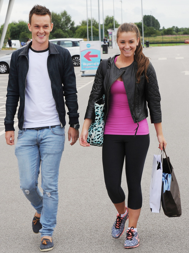 Brooke Vincent and Josh McEachran pictured back in 2013