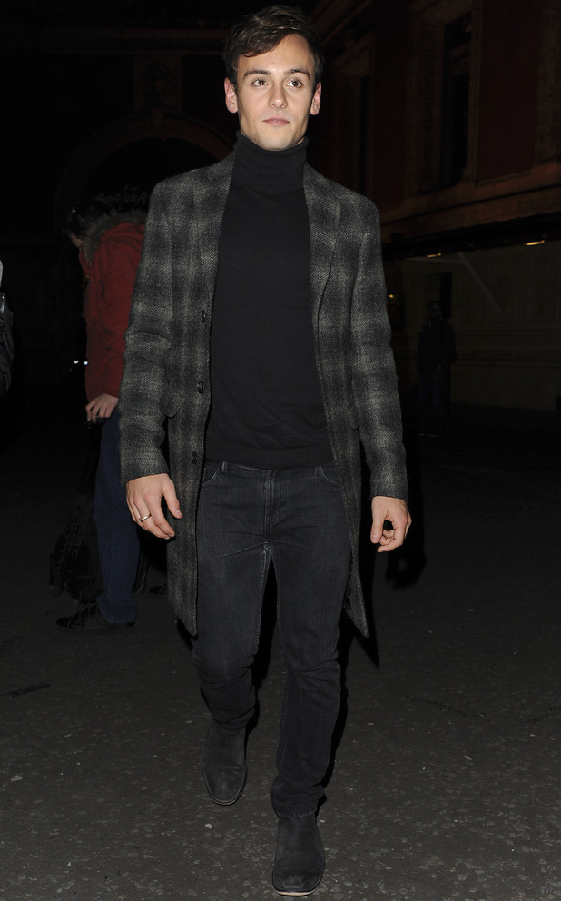 Tom Daley attends Cirque Du Soleil Amaluna at Royal Albert Hall, London 19 January