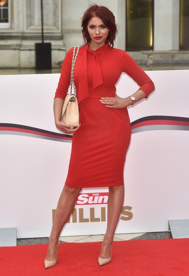 The 2016 Sun Military Awards held at the Guildhall - Arrivals. Amy Childs 22 January 2016