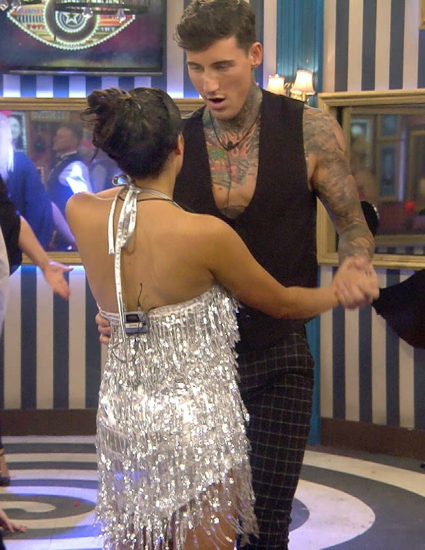 CBB Day 13: Stephanie Davis and Jeremy McConnell in the dance task