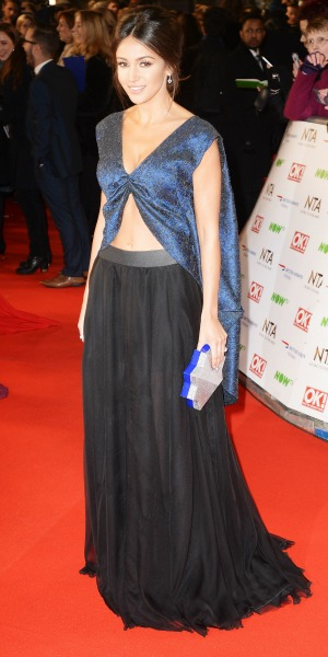 Michelle Keegan attends the 21st National Television Awards at The O2 Arena on January 20, 2016 in London, England. (Photo by Dave J Hogan/Dave J Hogan/Getty Images)
