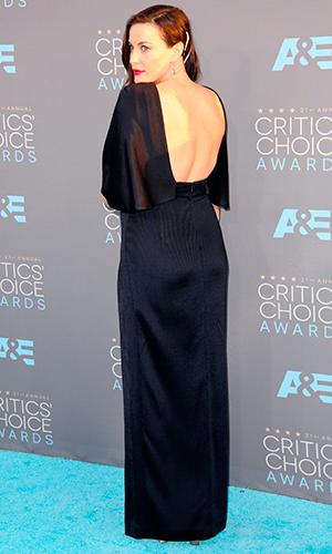 Celebrities attend The 21st Annual Critics' Choice Awards at Barker Hangar. Liv Tyler