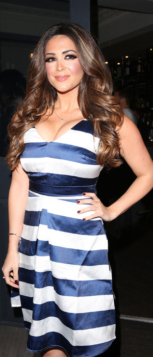 Model Casey Batchelor attends the UKAI Launch Party in London, 28th January 2015