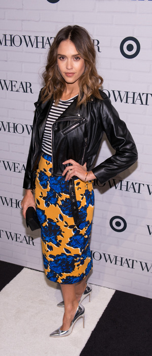 Jessica Alba attends the Target X Who What Wear party in New York City, America, 28th January 2016