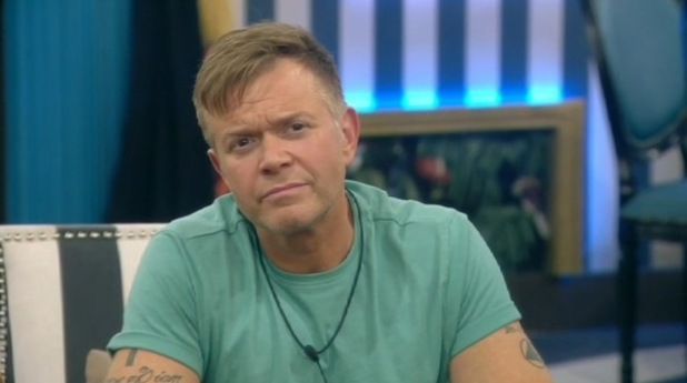 CBB - day 23. Darren is picked to go to the toxic clinic.