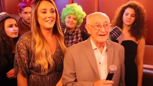 Charlotte Crosby in Partying with my Dirty Grandpa! YouTube video, January 2016
