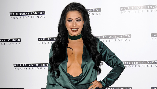 Chloe Ferry is the new face of Hair Rehab the company owned by Lauren Pope, Sanctum Soho Hotel in London, 25th January 2016