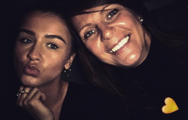 Brooke Vincent Blog: Brooke with her mum 26 January