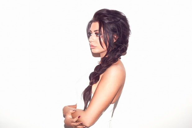 Geordie Shore star Chloe Ferry is the brand new face of Lauren Pope's hair extensions brand, Hair Rehab London - campaign image, 26th January 2016