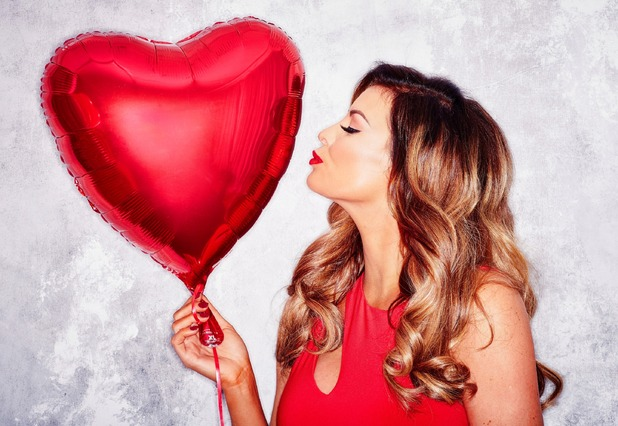 TOWIE's Jessica Wright fronts the British Heart Foundation's Wear it. Beat it. campaign. 27 January 2016.