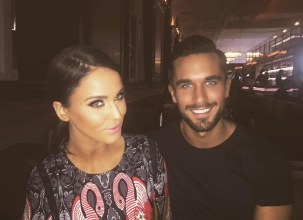 Alex Cannon and Vicky Pattison out for dinner 23 January