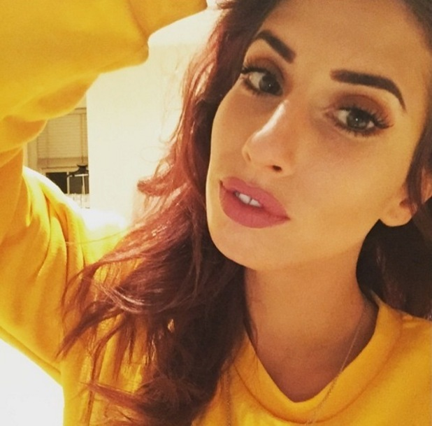 Stacey Solomon selfie, Instagram 23 January