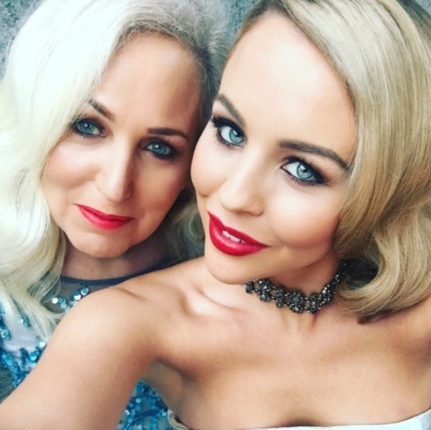 TOWIE's Lydia Bright posts glam selfie with mum Debbie, Instagram, 27th January 2016