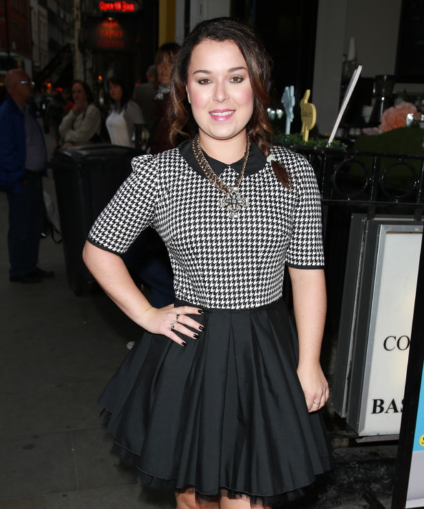 Dani Harmer - Gala night for 'Some Girl I Used To Know' - 08/27/2014.
