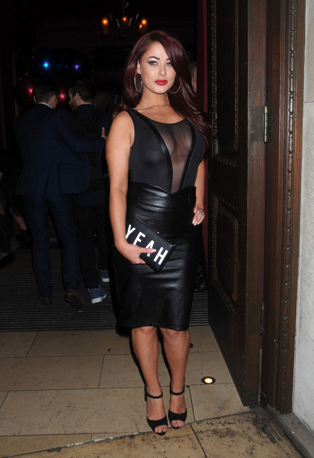 Love Island star Jessica Hayes at the Steam & Rye party in London, 29th January 2016