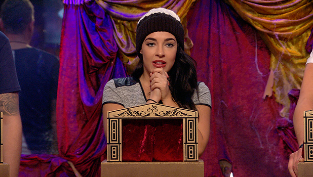 Day 19 CBB: Stephanie upsets Danniella during task, so Danniella storms out of house before returning and apologising. 23 January 2016