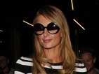 Paris Hilton goes all 60s on us in stripes looks so utterly chic