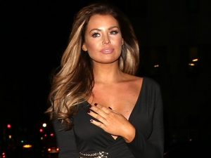 Jessica Wright out at Sexy Fish restaurant in London 2 February